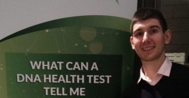 Federico Benuzzi, a Quadram Institute Bioscience student