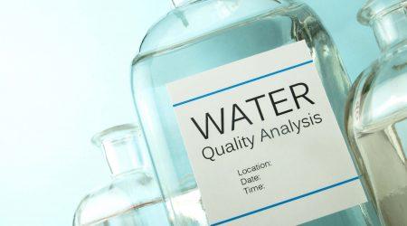 Water sample laboratory analysis